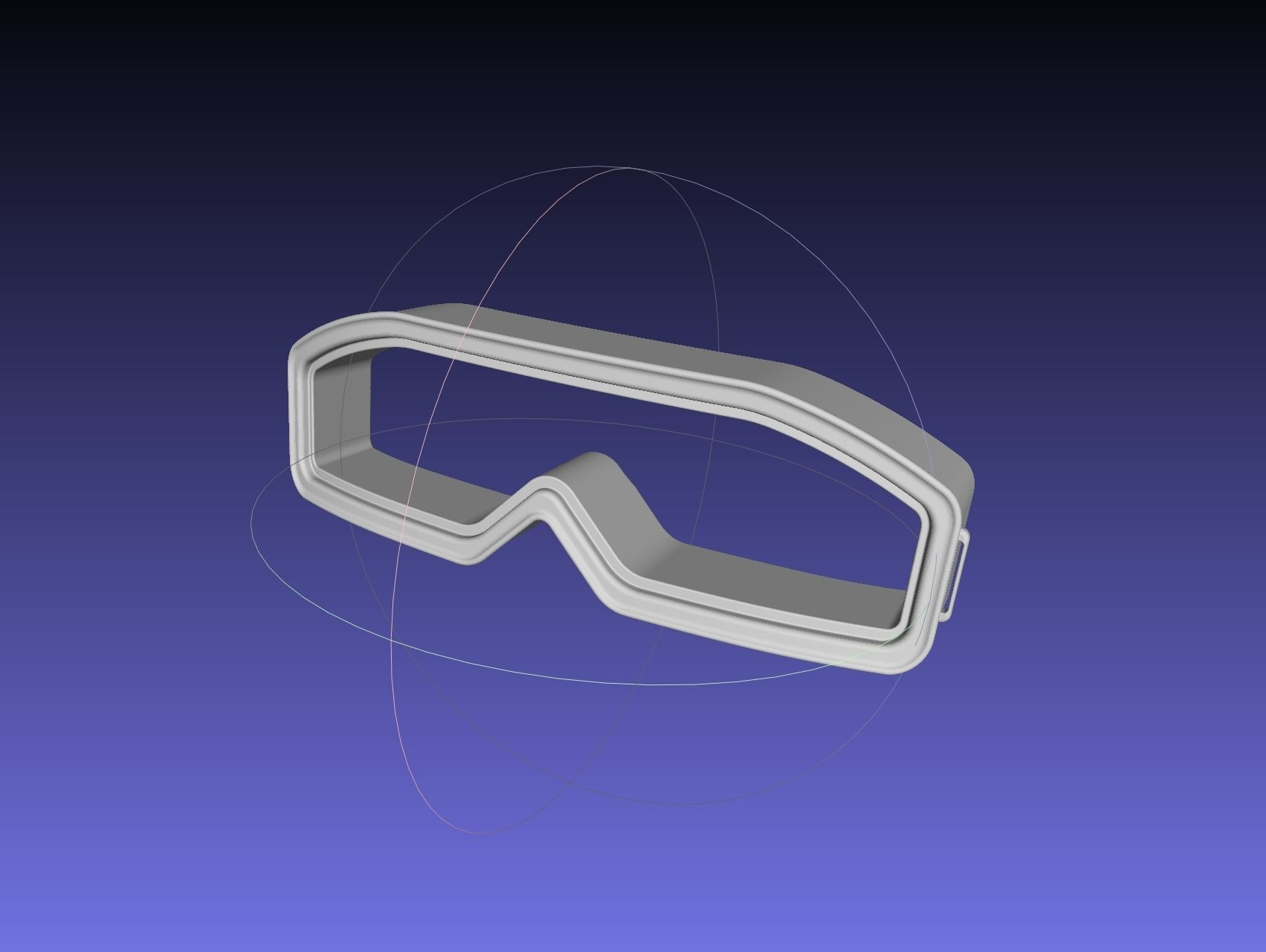 Star Wars Imperial Officer Goggles Model
