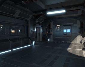 Intrepid spaceship 3D model