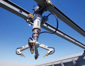 3D asset Robotic Crane Balk