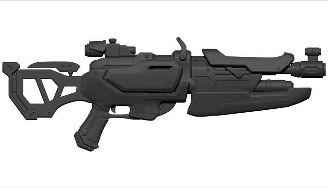 overwatch game weapon model 3 3d model stl 1