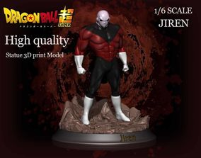 Beautifull statue Jiren 3D print model kit