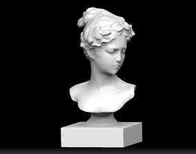 3D print model woman statue