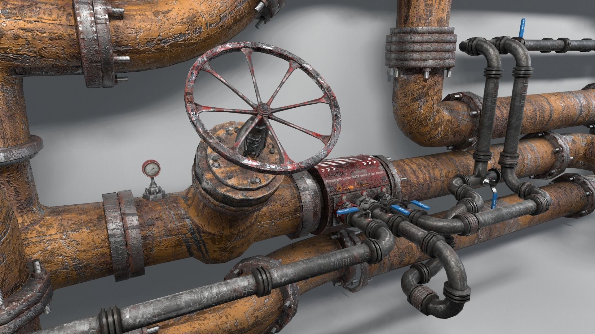 Modular Industrial Pipes
