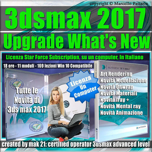 corso 3ds max 2017 upgrade what new un computer 3d model max obj mtl fbx stl tga mat 1