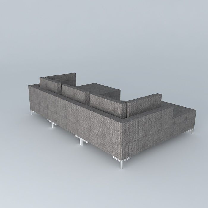 Israel Sectional Designed By Percy Ramos Free 3d Model