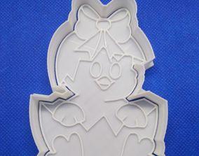 3D print model COOKIE CUTTER EASTER CHICKEN