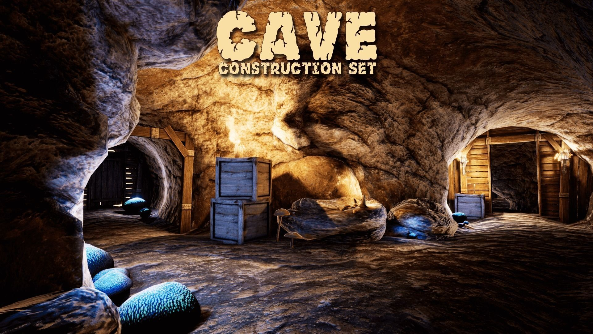 Cave Creator for UNREAL | 3D model