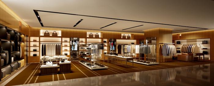 Clothing Store Shop 3d Model Max Fbx 1