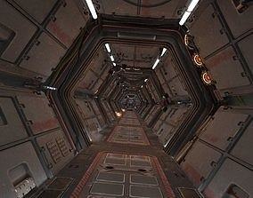 3D model Scifi Corridor