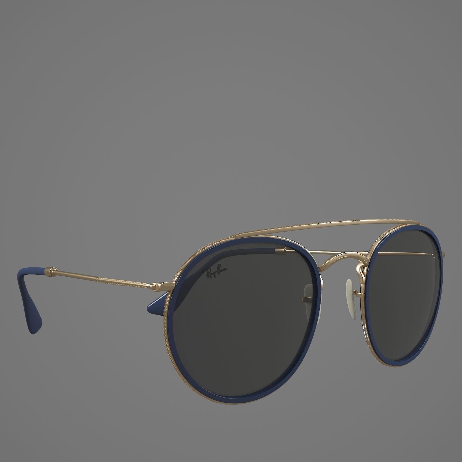 69cd71e07d ... rayban glasses 3d model max obj mtl 6 ...