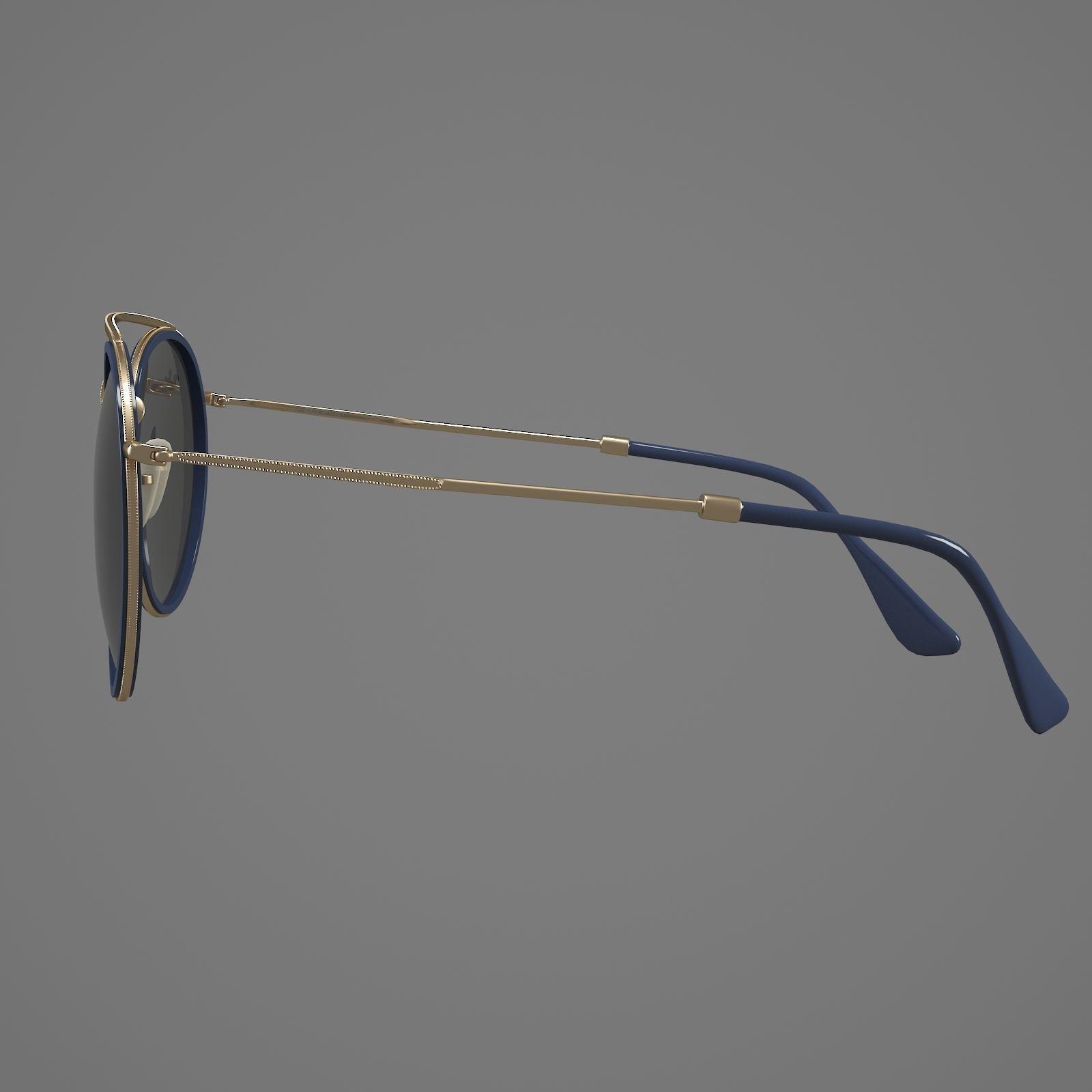 27ff806601 ... rayban glasses 3d model max obj mtl 3 ...