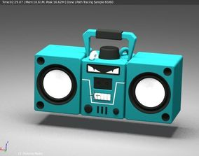 fortnite boombox 3D printable model