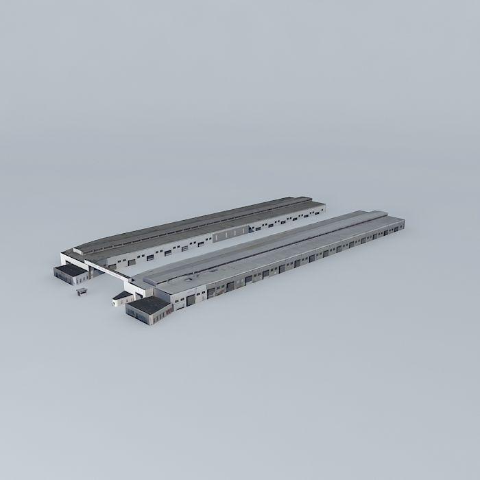 Port of san francisco building ca usa free 3d model max for Porte 3ds max