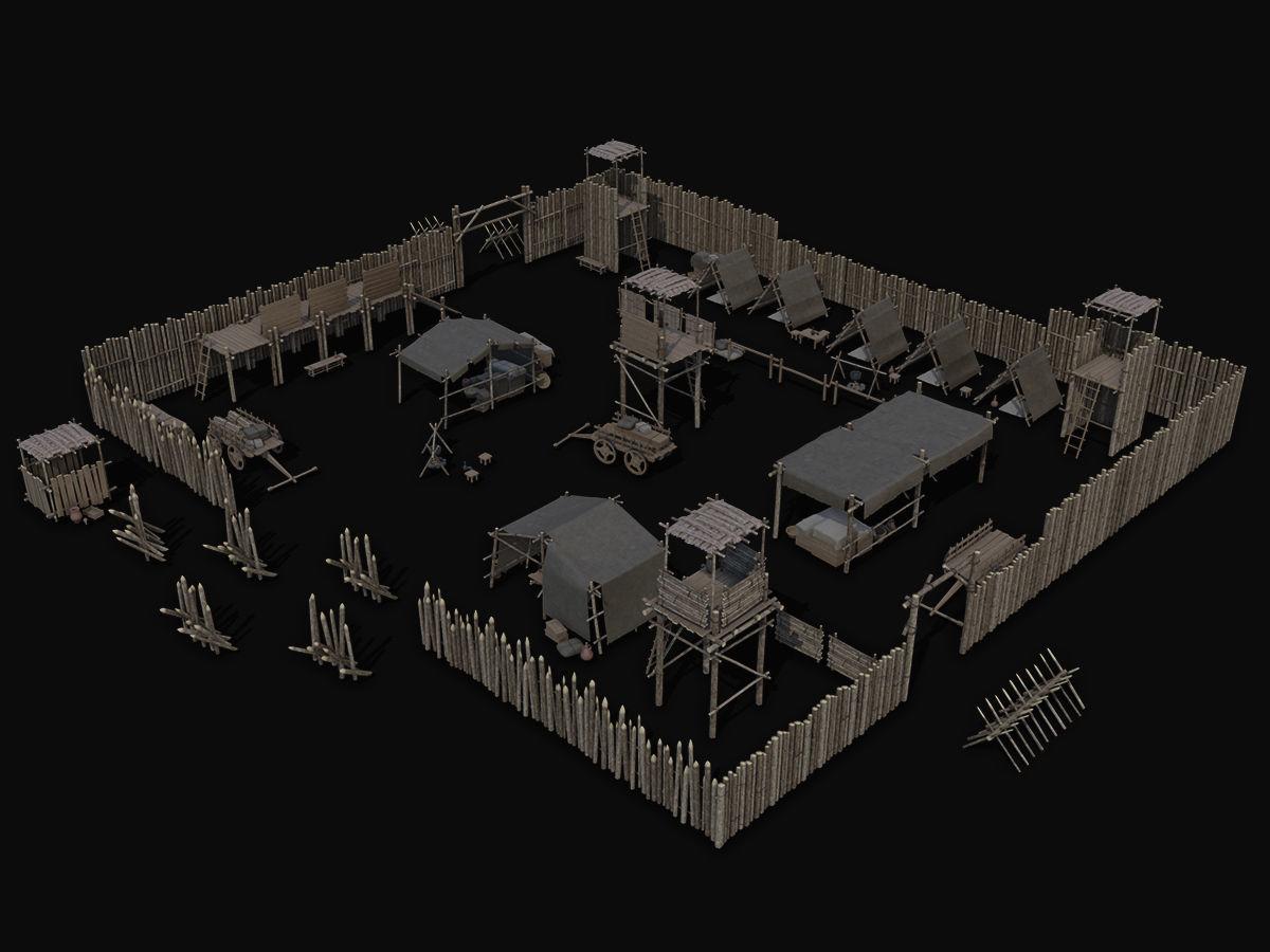 Ancient Camp Construction Kit