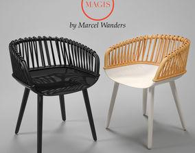 Magis CYBORG CLUB woven 3D model