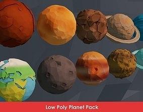 Planet Pack 3D asset