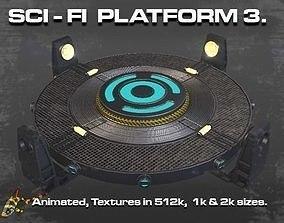 3D SCI-FI PLATFORM 3