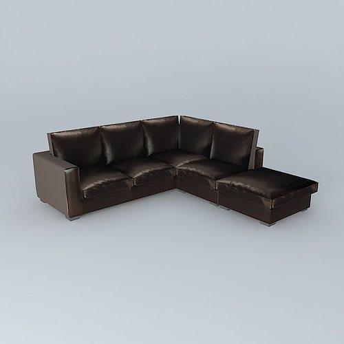 Split Leather Sofa 5 Pl Kennedy Houses The World Model
