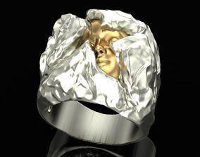 Ring Ice Girl 3D print model