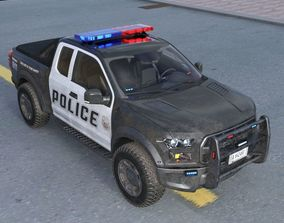 police truck 3D