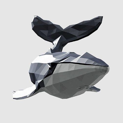 humpback whale 3d model obj mtl 3ds fbx blend dae 1