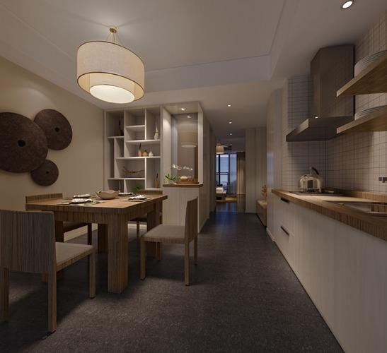 3d Max Kitchen Interior Design: Kitchen Interior 3D