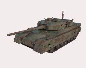 Abandoned tank 01 3D model