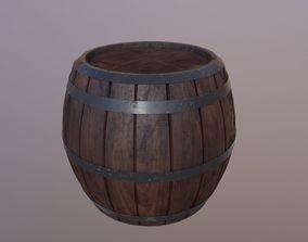 3D Old Barrel