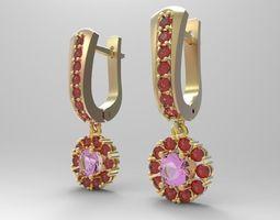 Earrings 1 3D Model