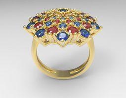 3D printable model ring basket