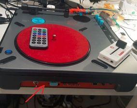 PT01 Bluetooth Soundplate 3D print model