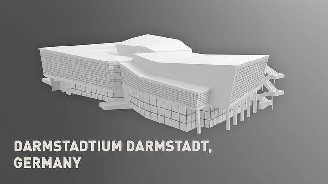 darmstadtium darmstadt germany 3d model max obj mtl fbx c4d 1