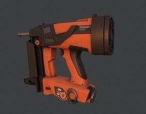 NailGun - PBR Game Ready Low-poly 3D model low-poly 2