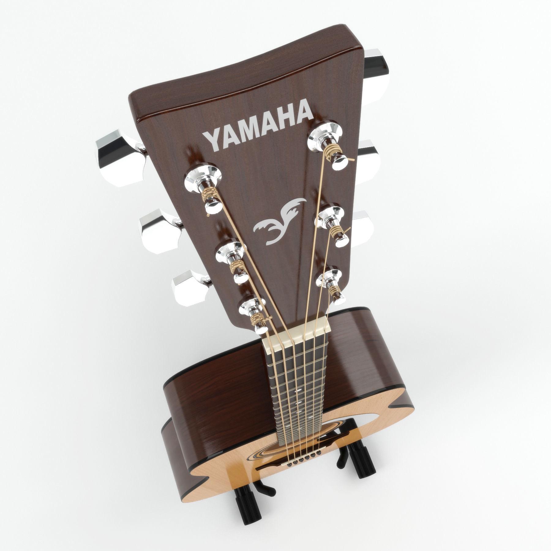 Acoustic guitar Yamaha F310 | 3D model