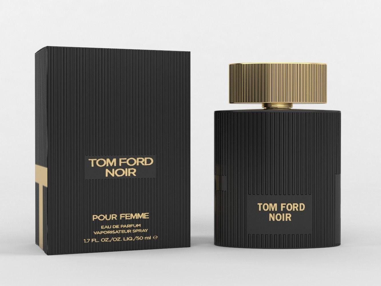 Tom Ford Noir Pour Femme Eau De Parfum 3d Model Cgtrader