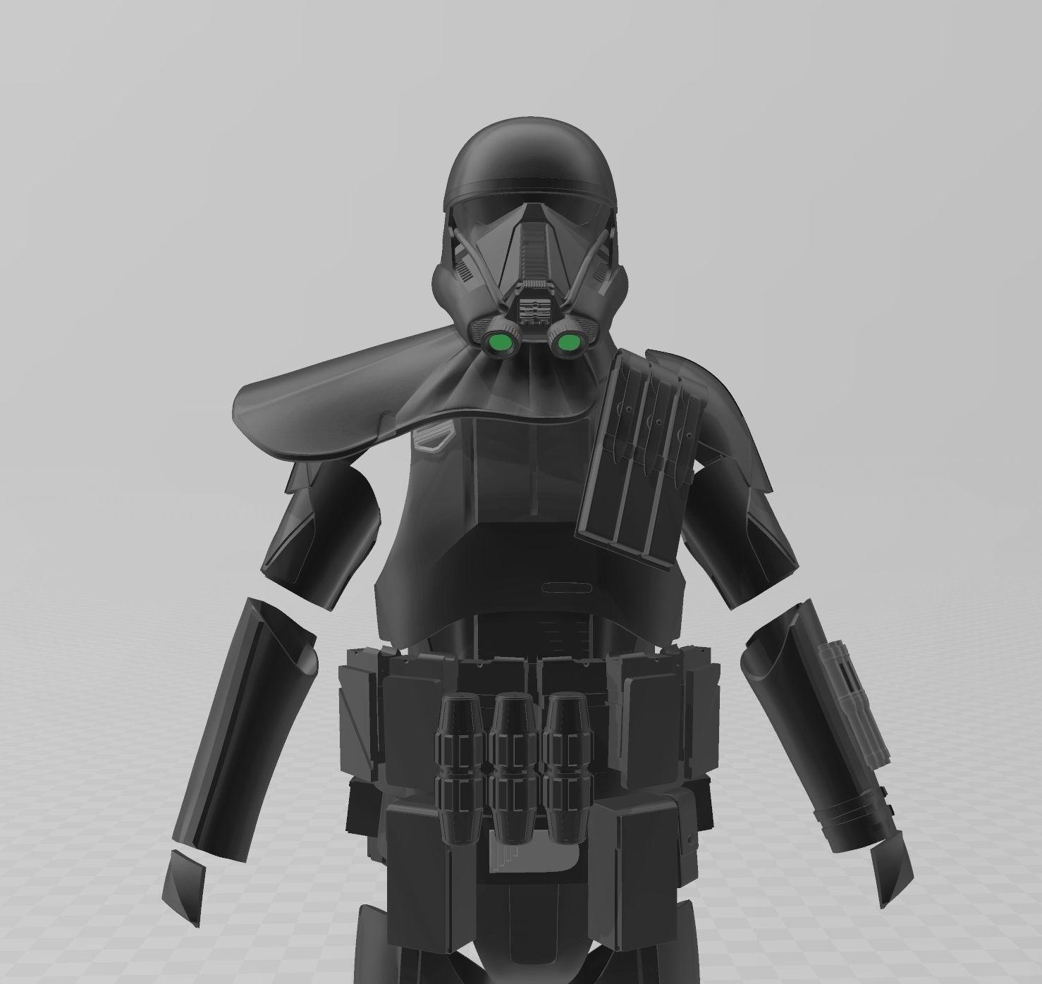 Star Wars Rogue One Death Trooper Full Armor