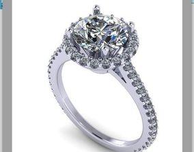 Beautiful Women Ring 108 3D printable model