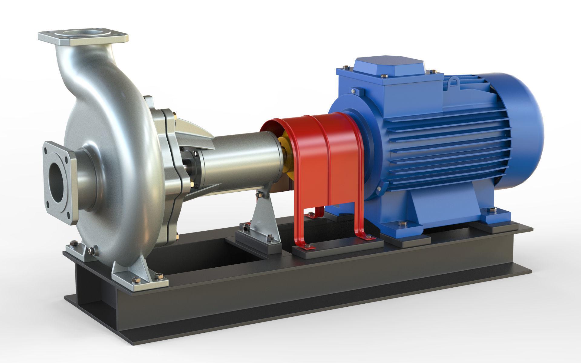Pump centrifugal NK2