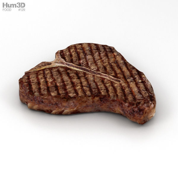 T-Bone Steak Cooked