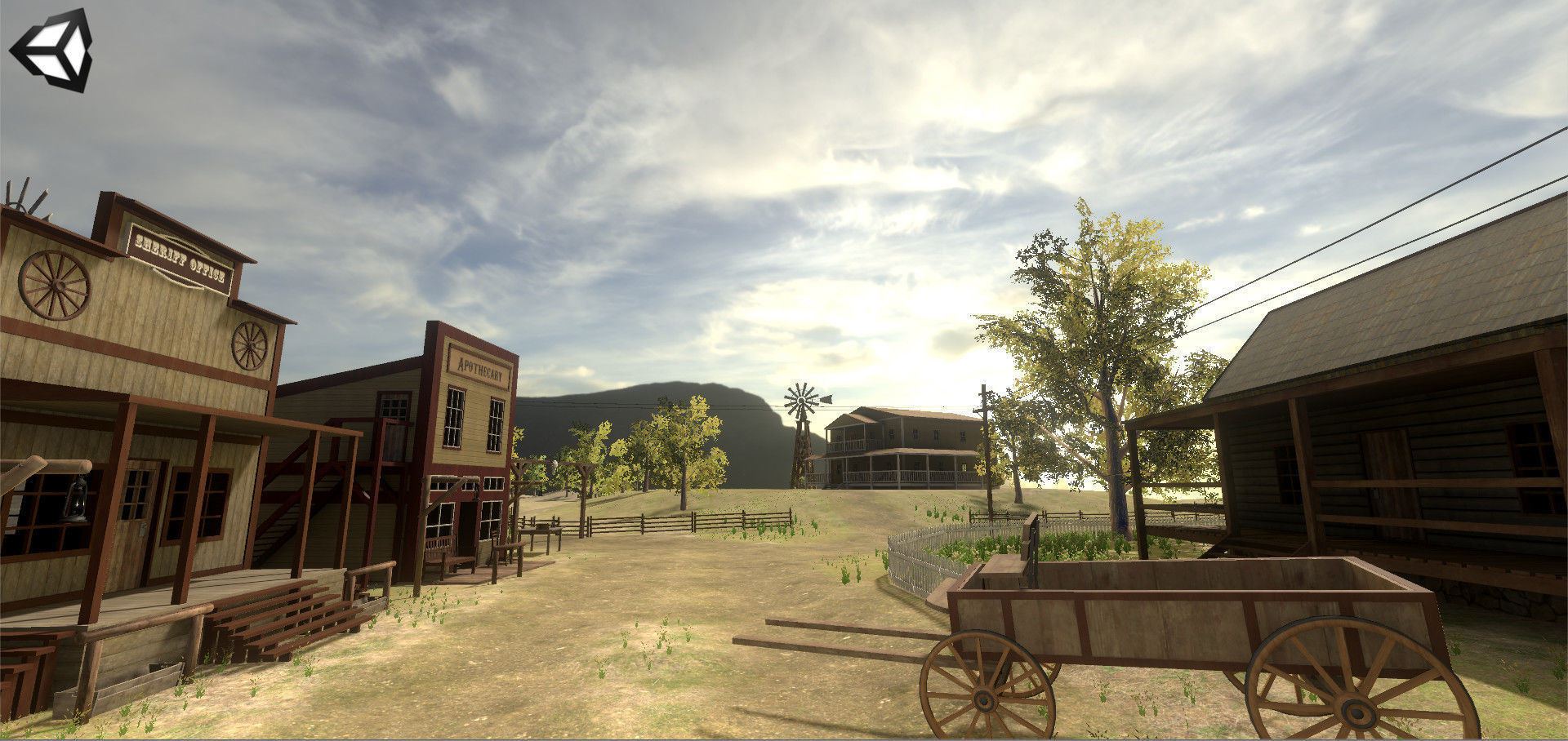 Wild Western Pack Unity3D