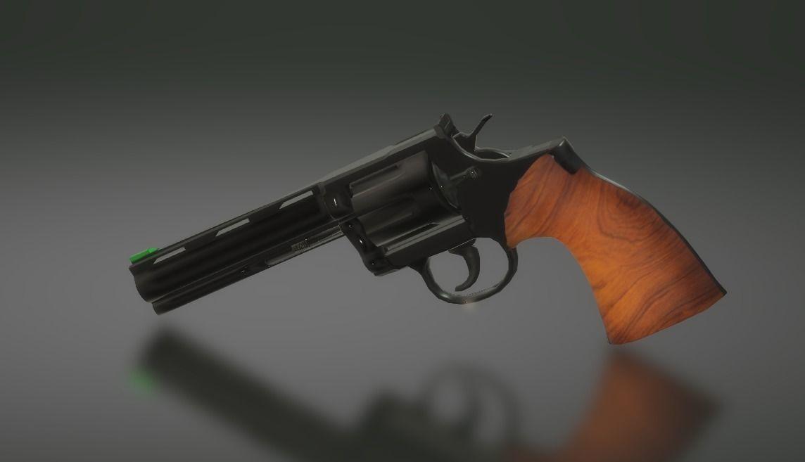 Colt Python | 3D model