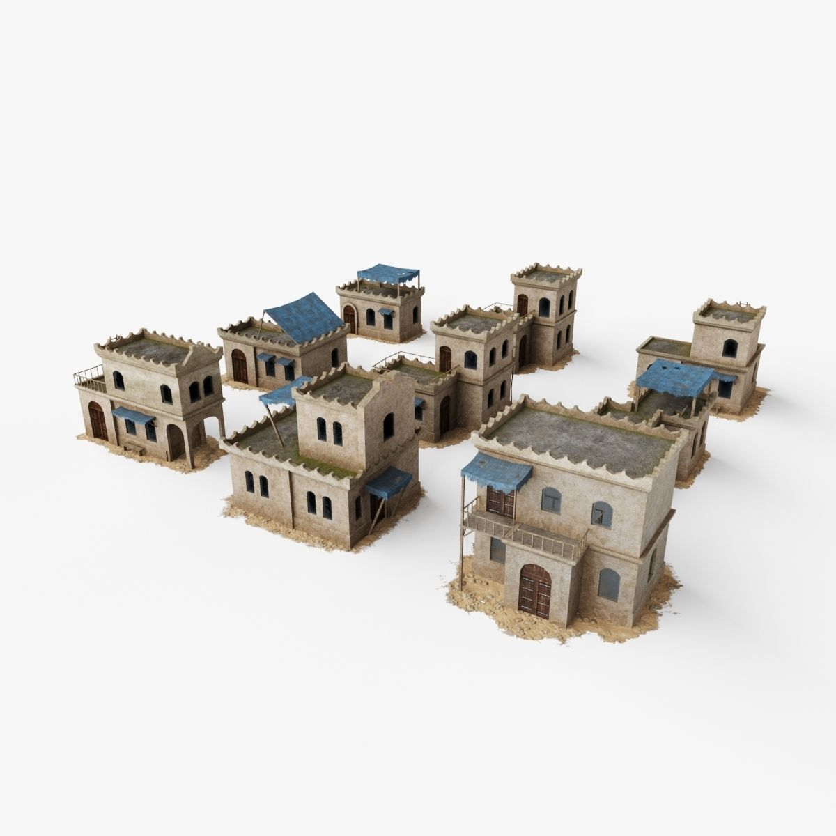 Collection of Oriental Buildings