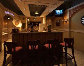 Restaurant Bar table 3D model