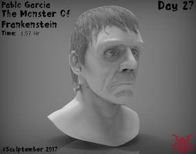 3D print model The Monster of Frankenstein