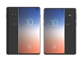 Galaxy S10 and S10 Plus 3D