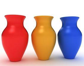 Vase 3d bath