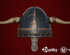 Medieval Helmet 3D asset