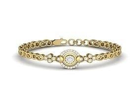 3D print model Diamond Bracelet For Ladies bangles