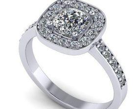 Women s beautiful ring 118 3D printable model