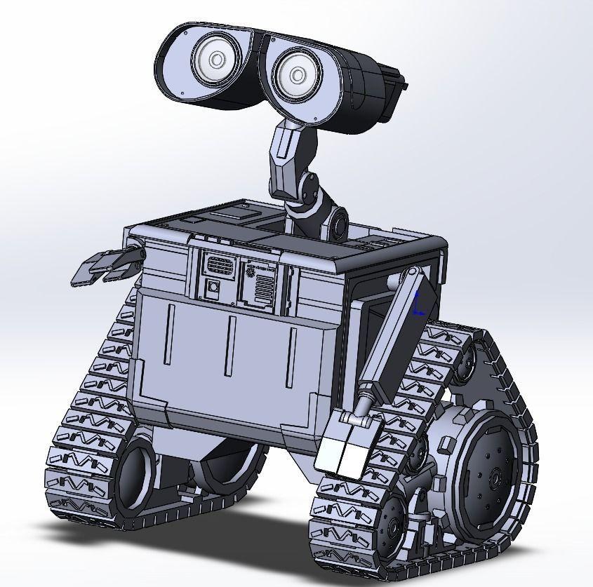 Walle 3D Print Model